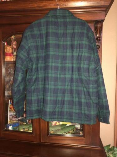 NWT WenVen Men's Sherpa Heavy XL Green