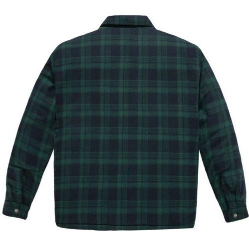 NWT WenVen Jacket Sherpa Shirt XL Green
