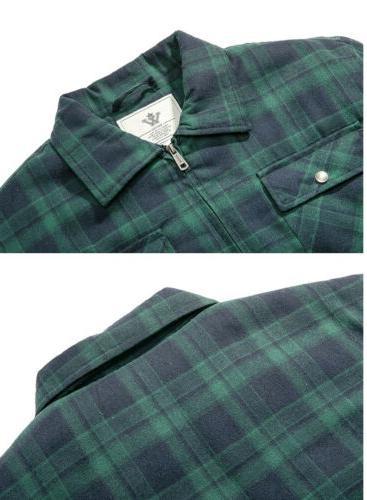 NWT Jacket Zip Up Fleece Sherpa Lined XL