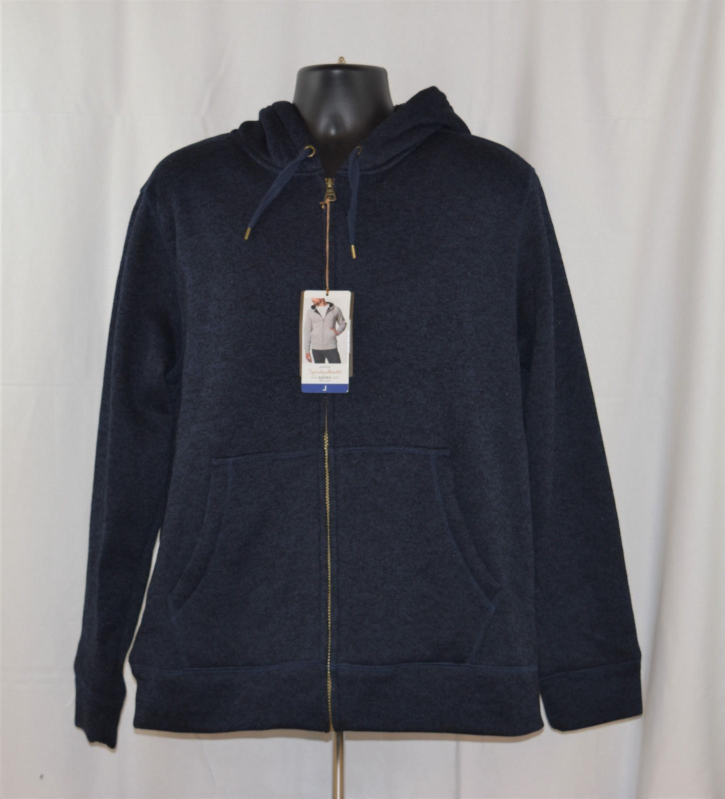 nwt men s full zip sherpa lined