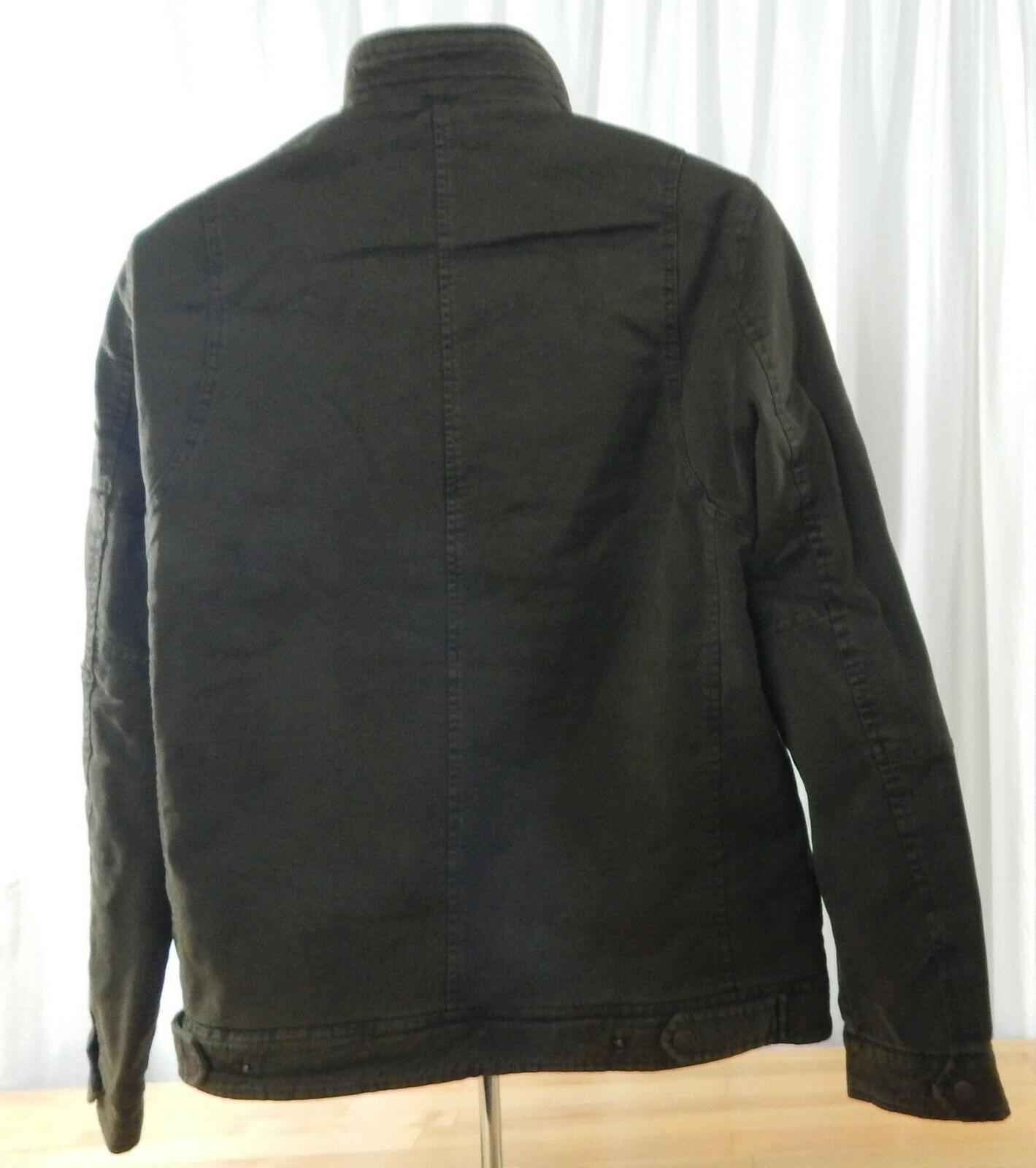 NWT Men's Barn Jacket & Snap Closure & Quilted Lining
