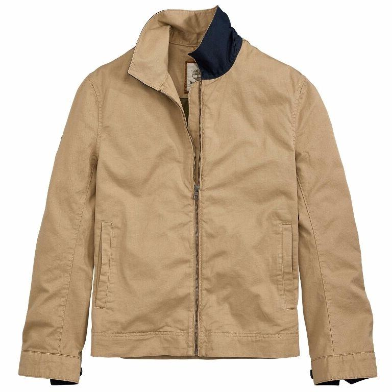 NWT Timberland Men's Stratham Bomber Jacket Classic Cotton T