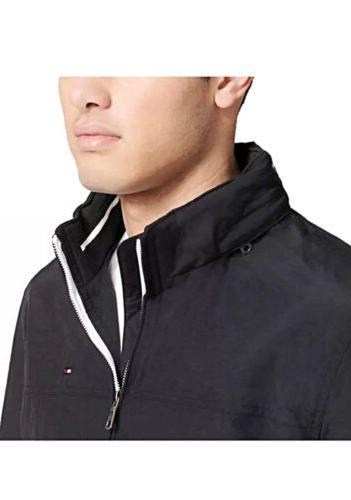 NWT Tommy Men's Taslan Nylon Resistant Black,