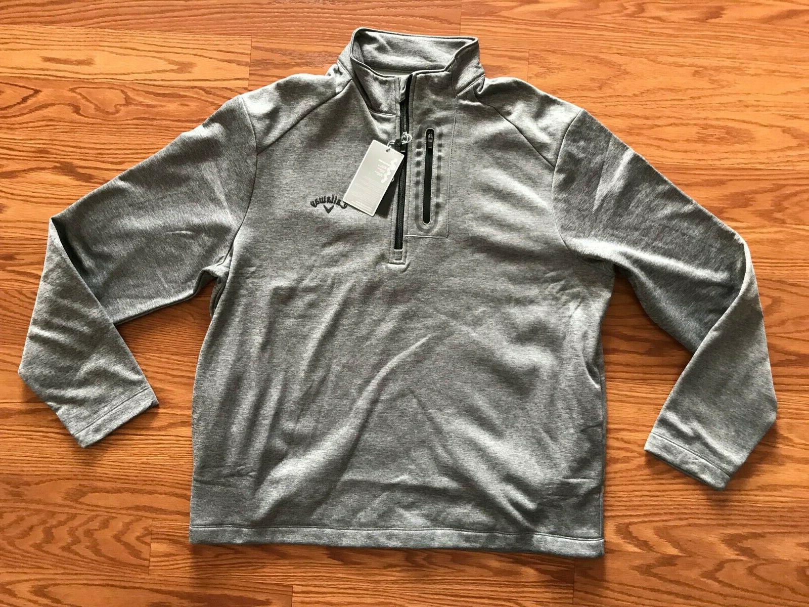 nwt mens black gray jacket golf 1