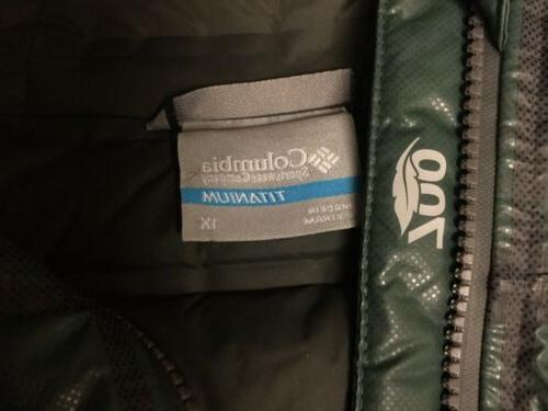 NWT Mens Titanium Outdry Extreme Goose Hooded 1X