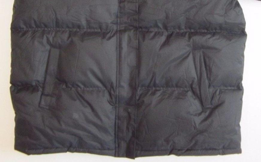 NWT WARM Jacket Bubble Coat lined Zip-off S-6XL