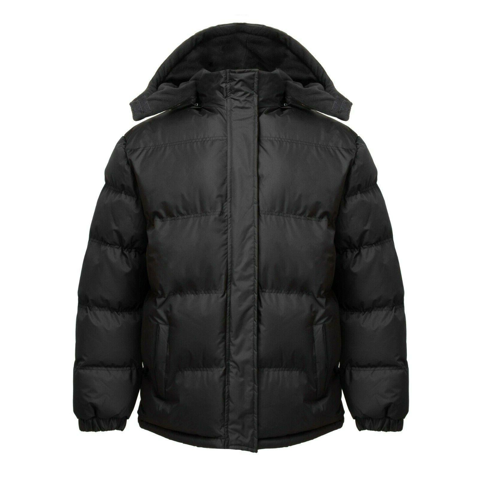 nwt mens warm puffer jacket bubble coat