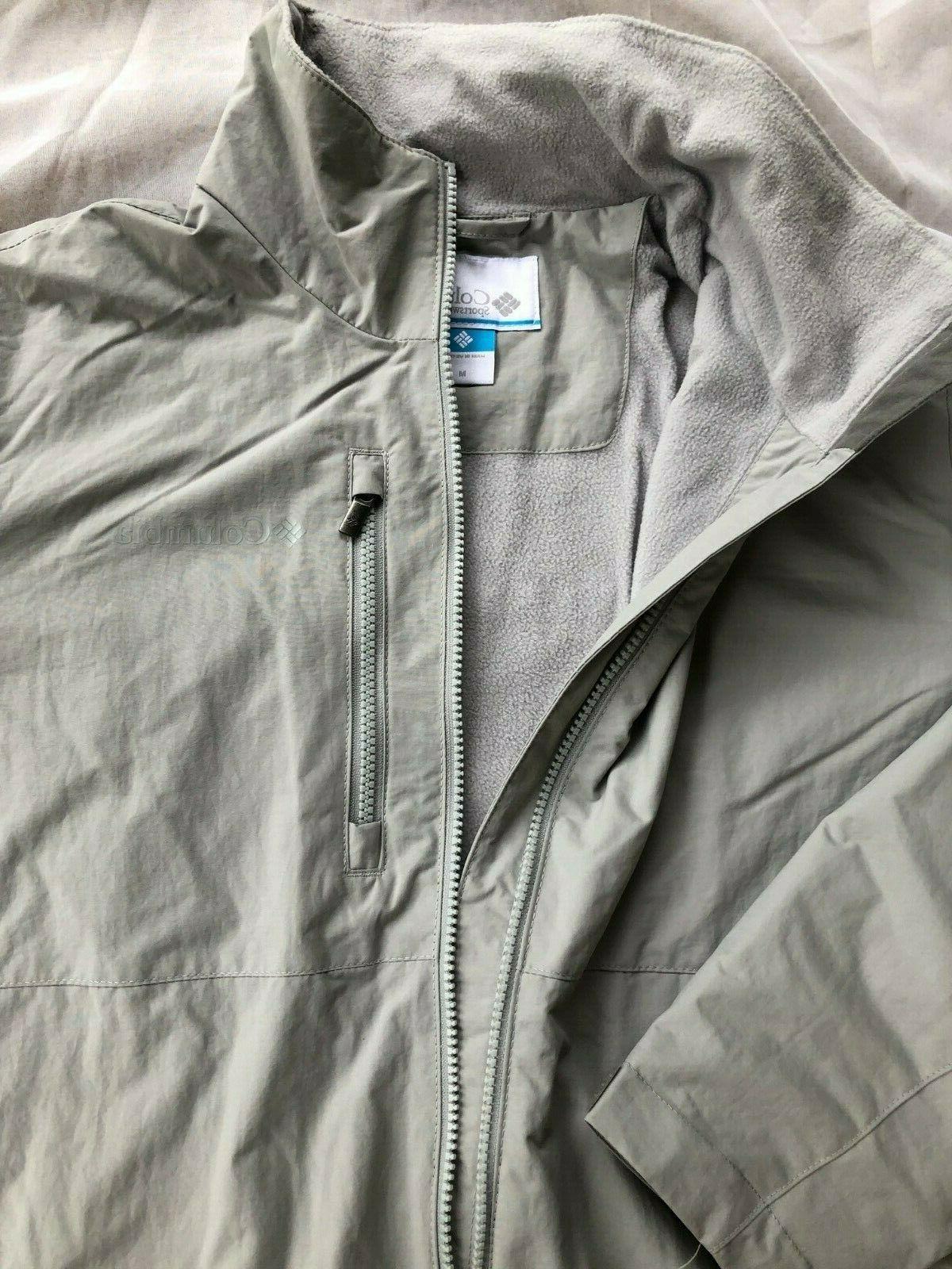 NWT Columbia Utilizer Jacket #1771571 Water Resistant