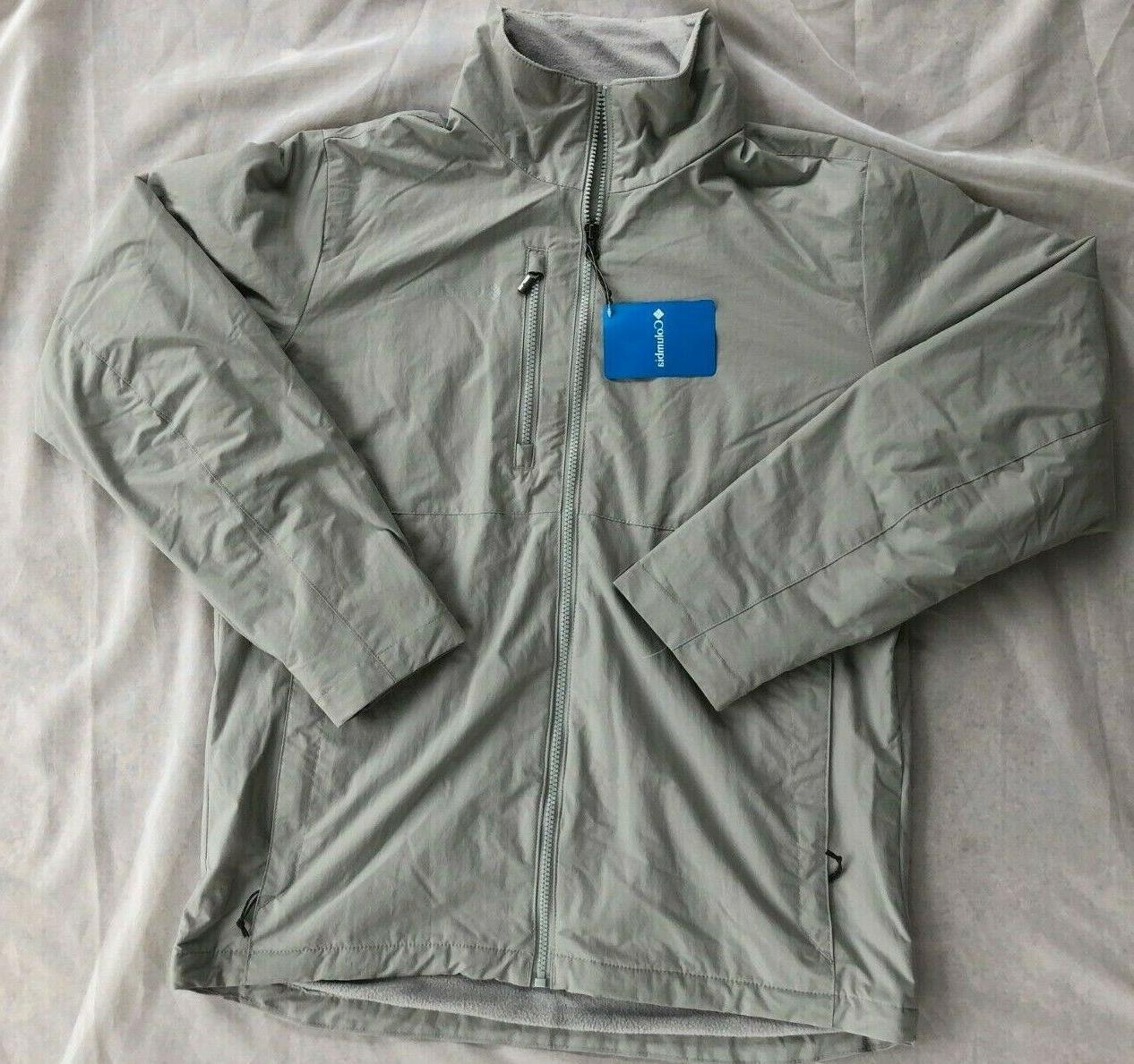 NWT Columbia Men's Utilizer Jacket Style Water