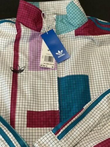 Adidas Orginals Jacket Wind Breaker Men's Medium Vintage Ret