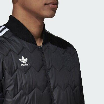 Adidas Originals Jacket Black Men superstar Trefoil