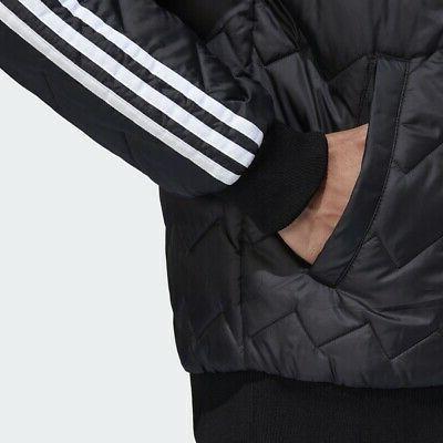 Adidas Originals Jacket Black superstar Trefoil New