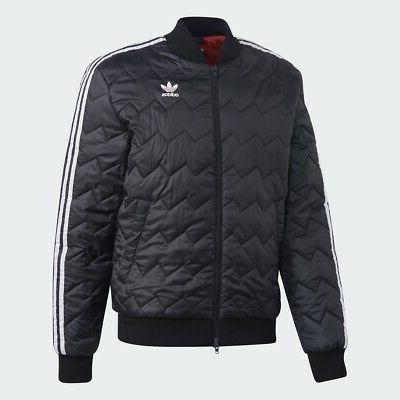 Adidas Originals Jacket Men superstar Trefoil logo