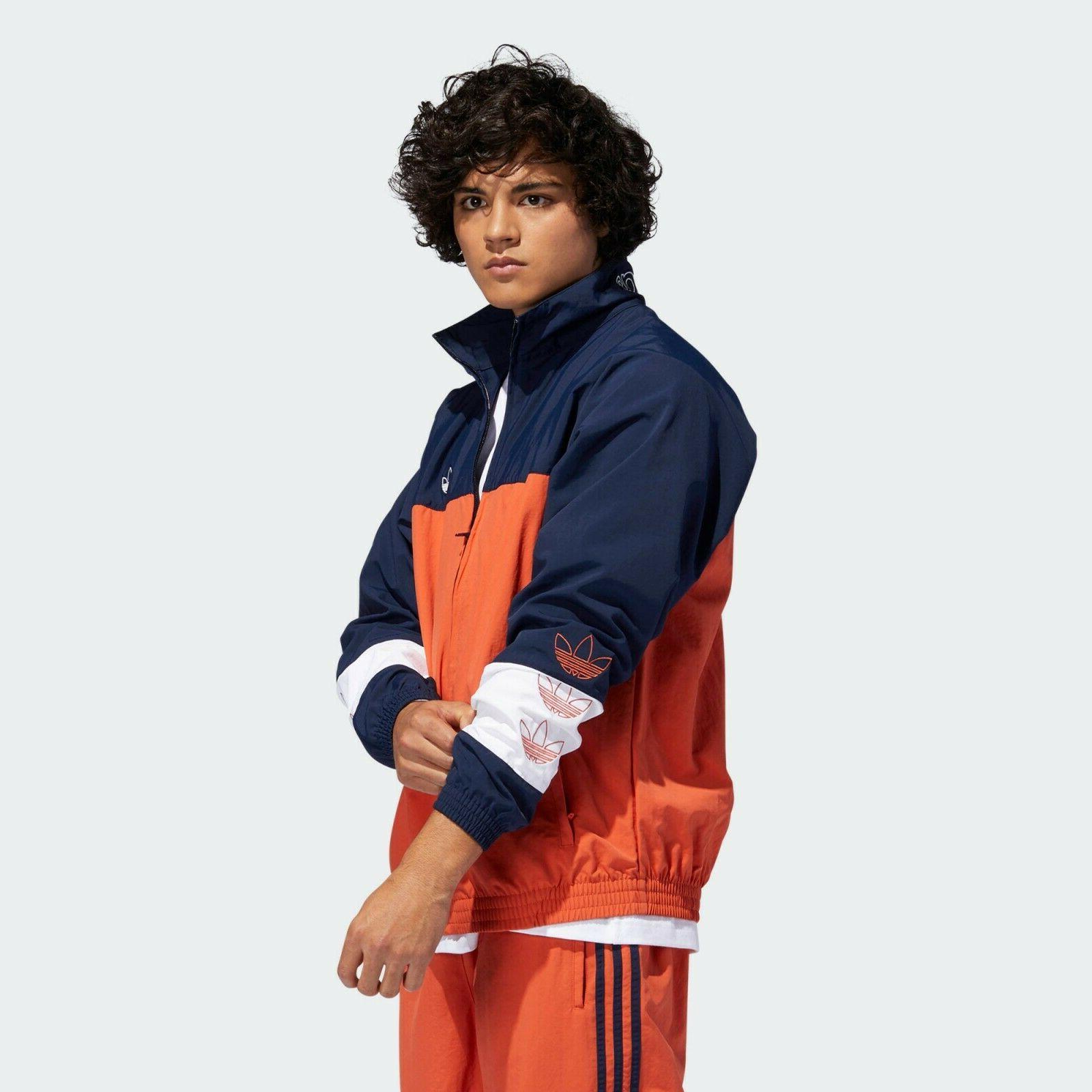 adidas Jacket Mens Raw Active Wear