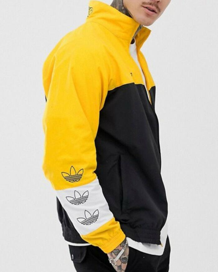 adidas Tourney Men's Jacket DV3118 Gold XL
