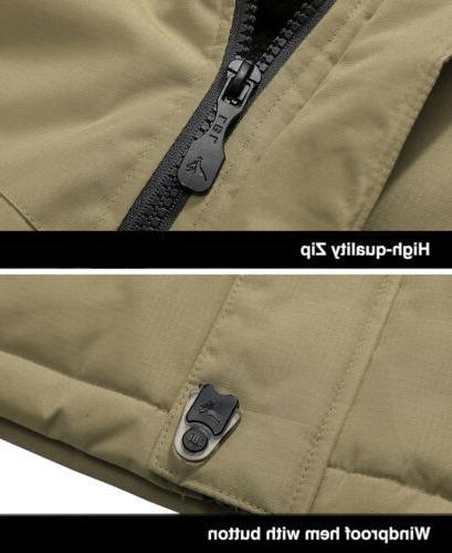 Outdoor Waterproof Jacket Winter Warm Snow Work