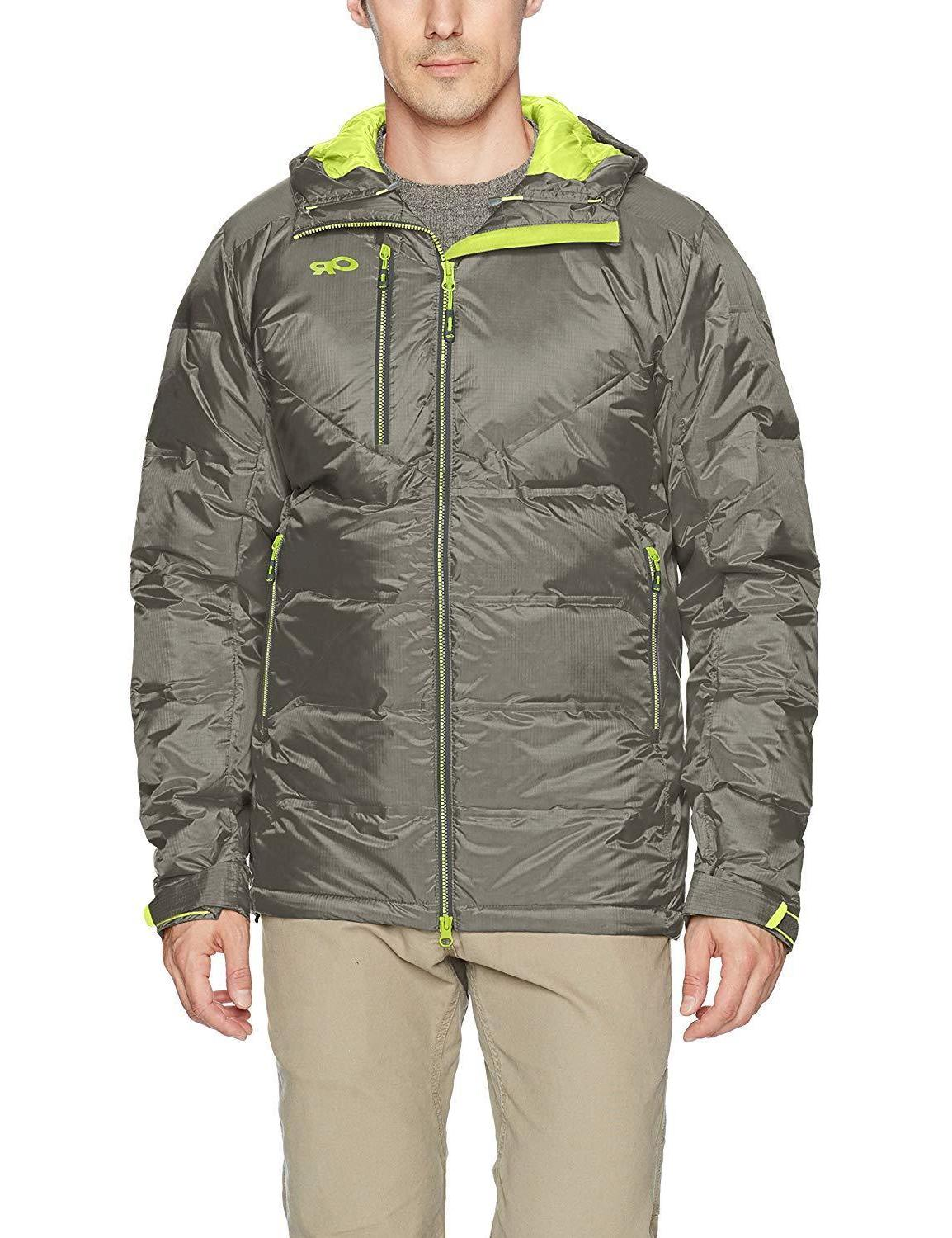 outdoor research men s floodlight down jacket