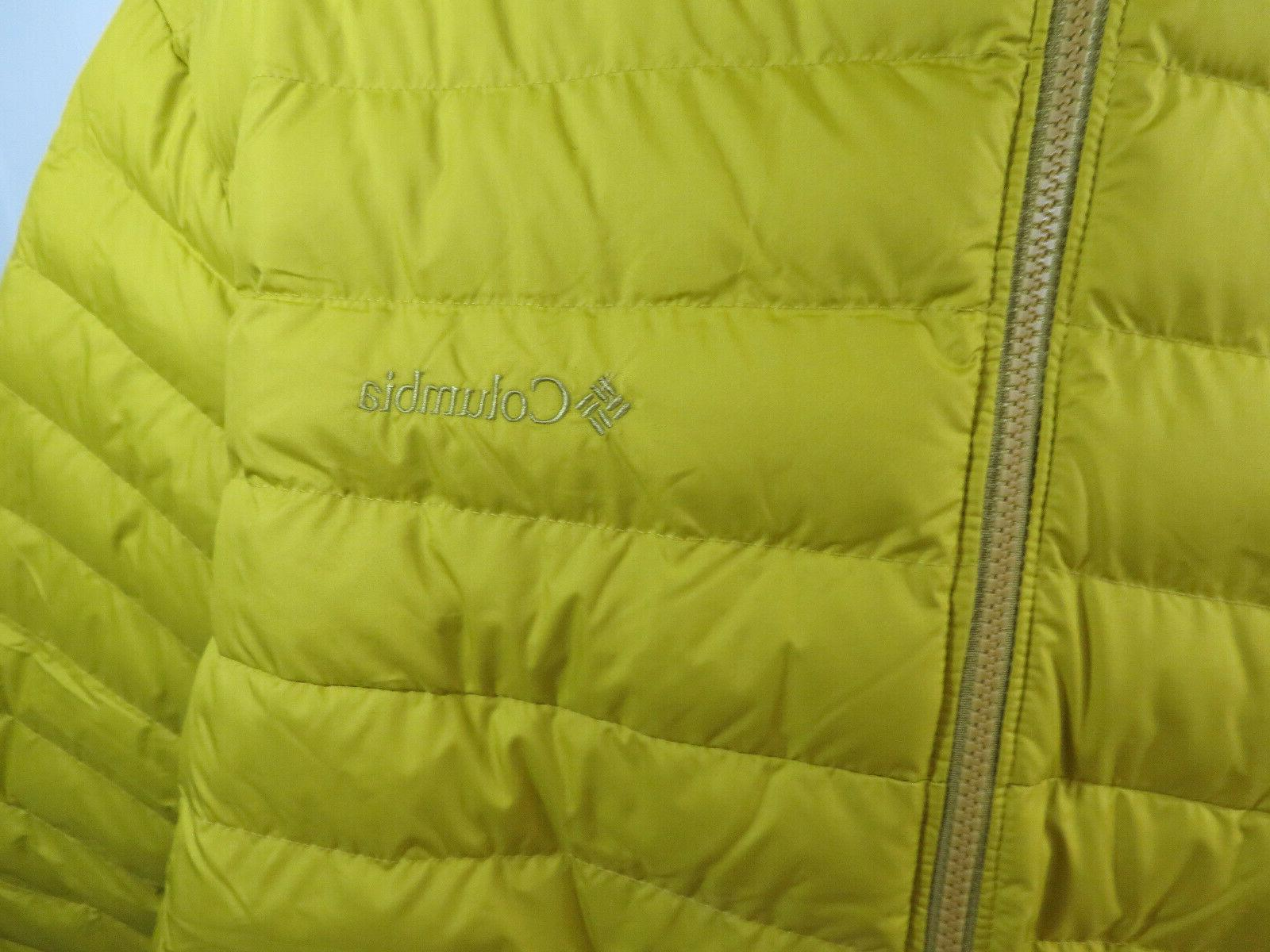 Columbia Oyanta Coil Insulated Jacket Yellow