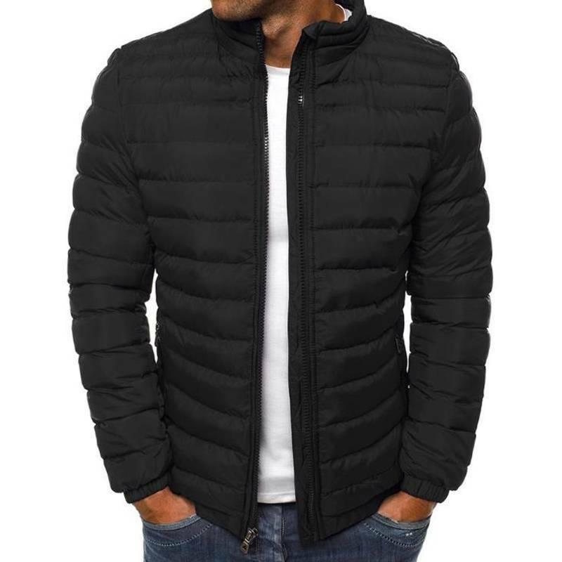 Men's Bubble Coat Jacket Quilted Winter Lightweight