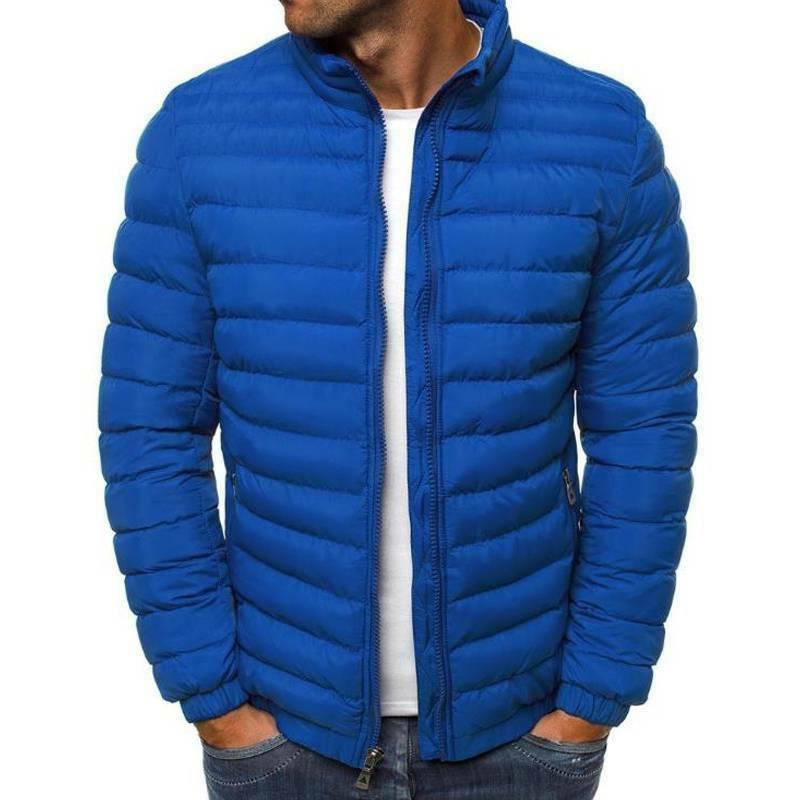 Men's Puffer Coat Quilted Padded Winter Lightweight Outwear