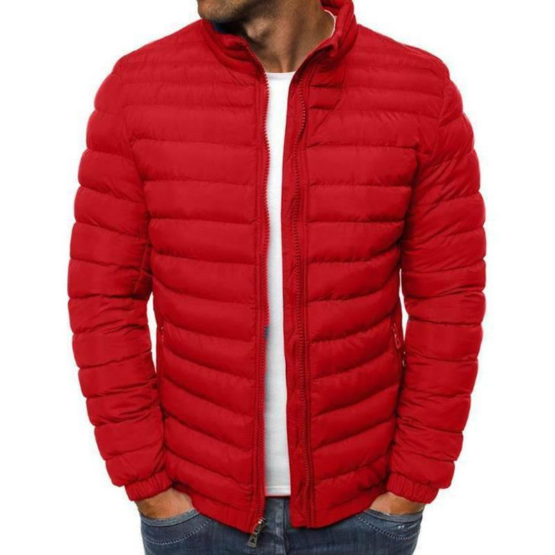 Men's Puffer Bubble Coat Quilted Padded Winter