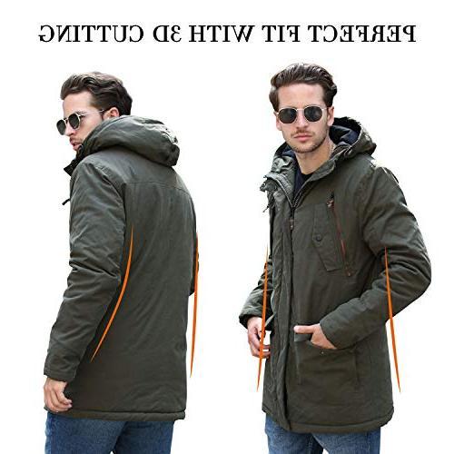 YsCube for Men Winter for Mens Waterproof Outdoor Practical Resistance