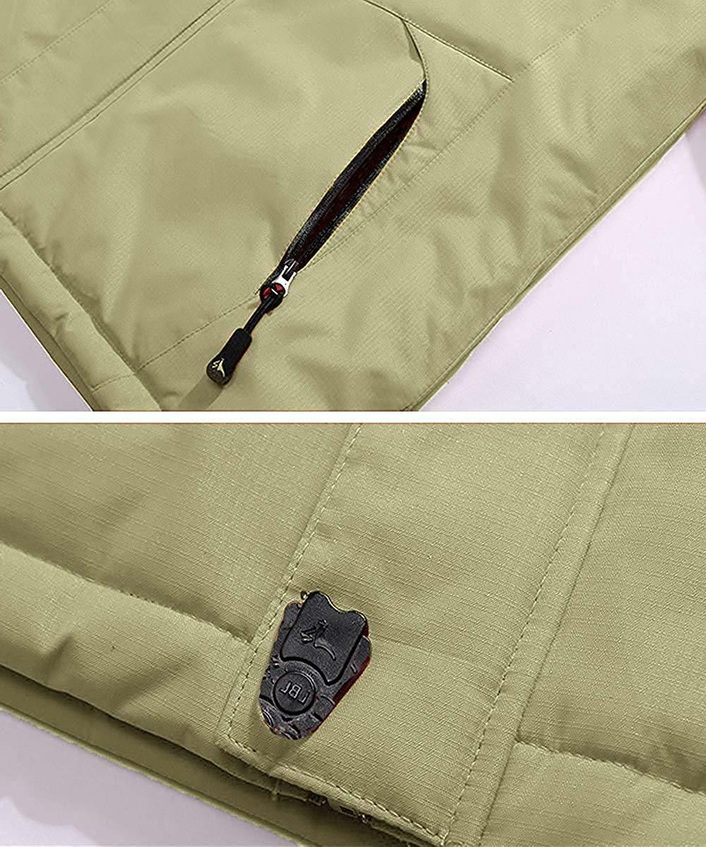 Pooluly Rain Snow Jacket Fleece
