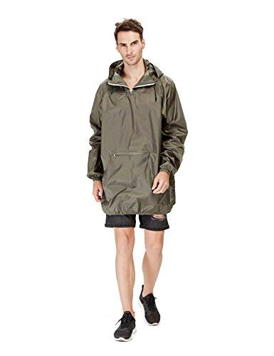 4ucycling Raincoat Rain in Army Lightweight