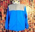 NAUTICA  Reversible Blue & Gray Insulated Fleece Jacket Mens