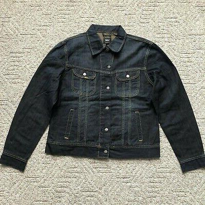 riders trucker denim jean jacket regular fit
