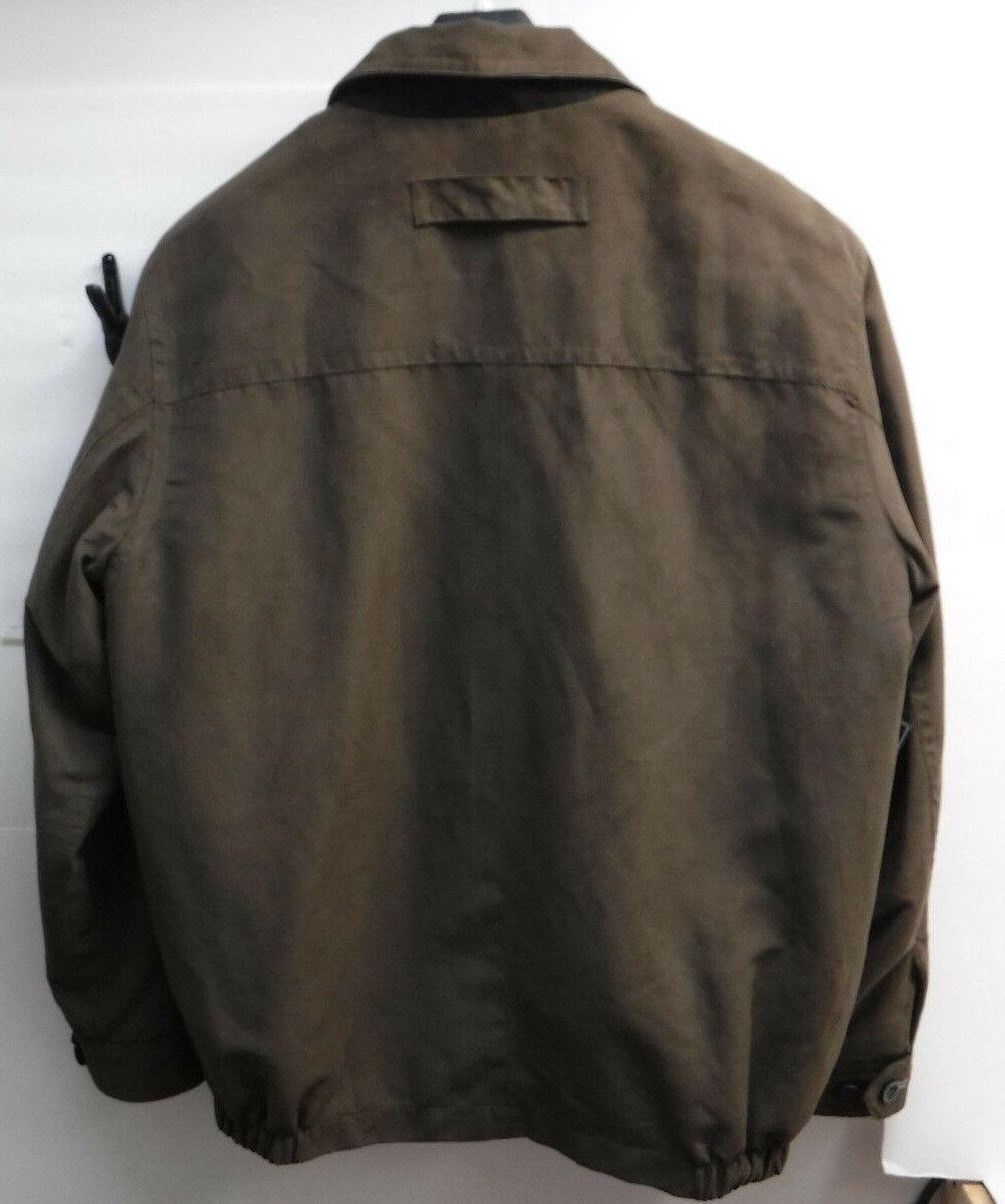 Roundtree Brown Size Lined New Coat