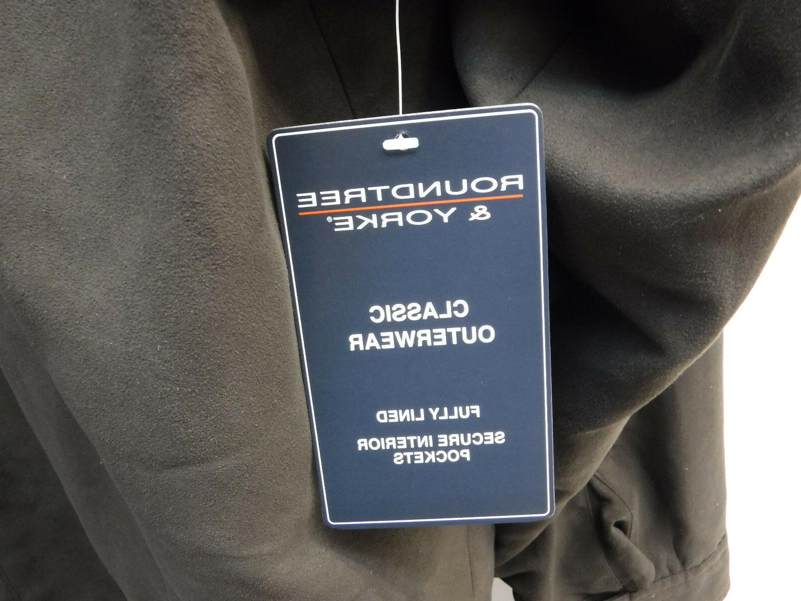 Roundtree Yorke Outerwear Brown Size Lined Jacket New Coat