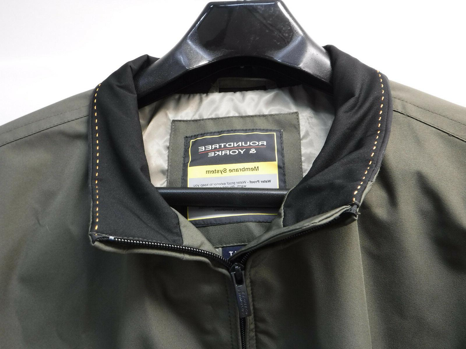 Roundtree & Outerwear Size Green Proof Jacket New Mens