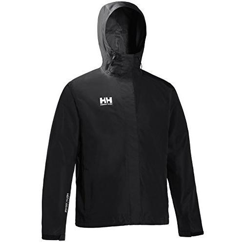 Helly Seven J Rain Coat Black,