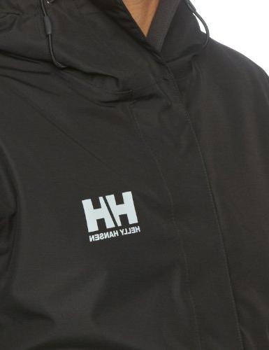 Helly Seven J Waterproof Windproof Rain Jacket, 992 Black, X-Large