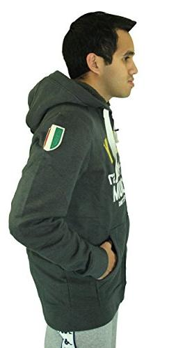 Kappa Slim Fit Italian Designer's Fleece Zip Jacket