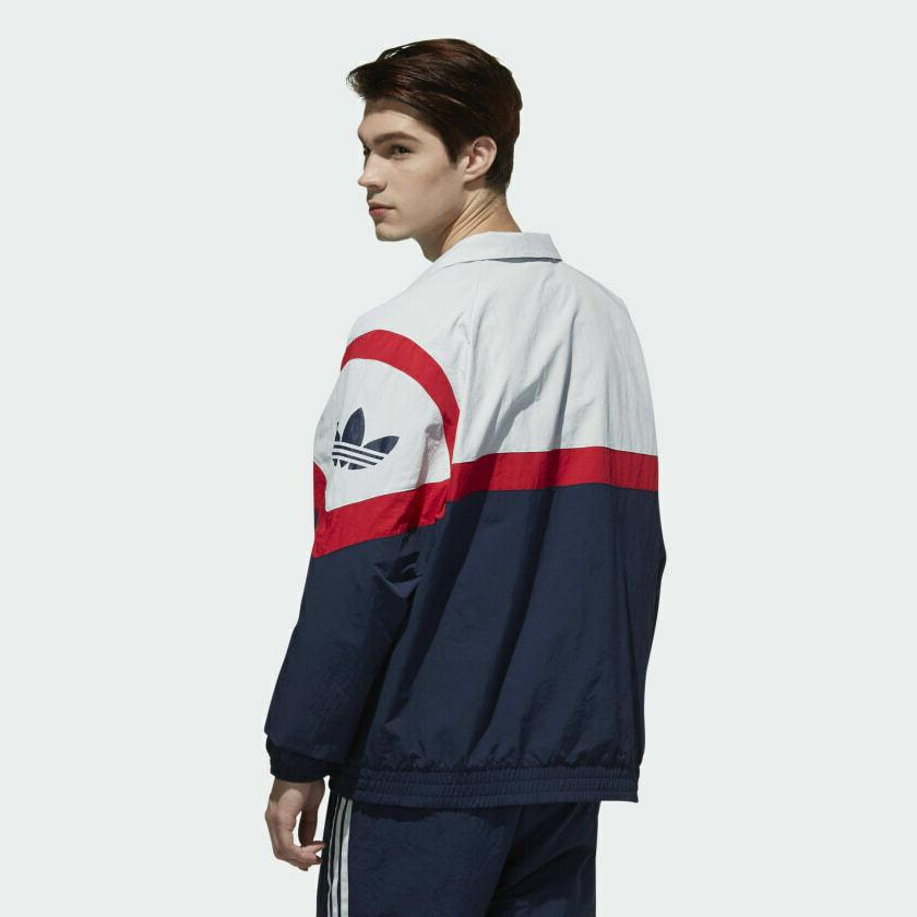 adidas | Size M, L Grey/Red/Blue