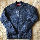 Nike Sportswear Men's Syn Fill Bomber Quilt Jacket Size Blac