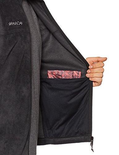 Columbia Men's Full Zip Soft Fleece Jacket,