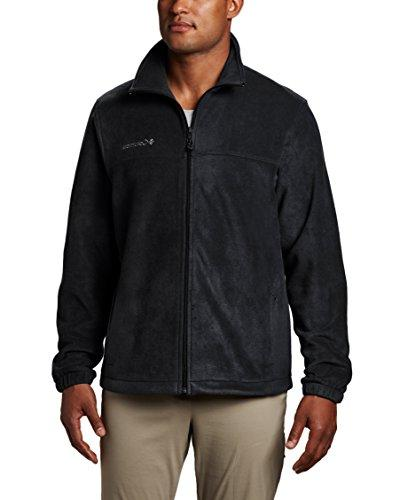 Columbia Steens Full Zip Fleece Jacket, Black, Medium