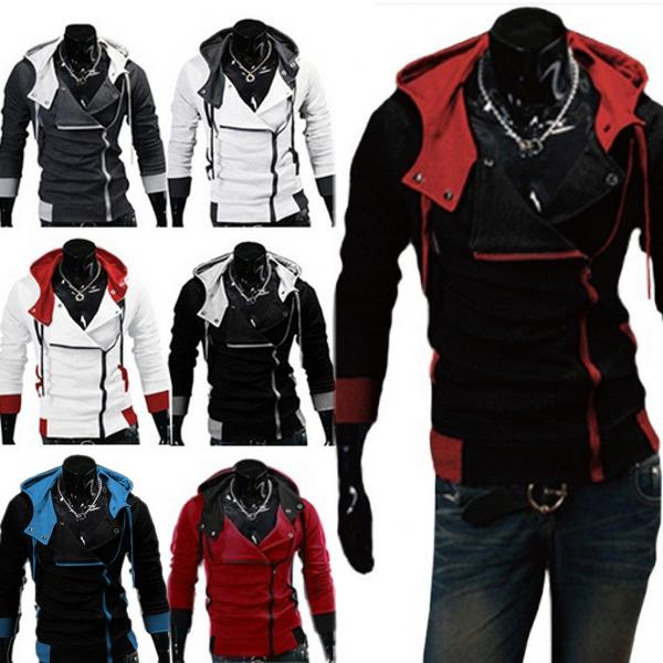 Stylish Creed Hoodie men's Cosplay For Assassins Cool Slim J