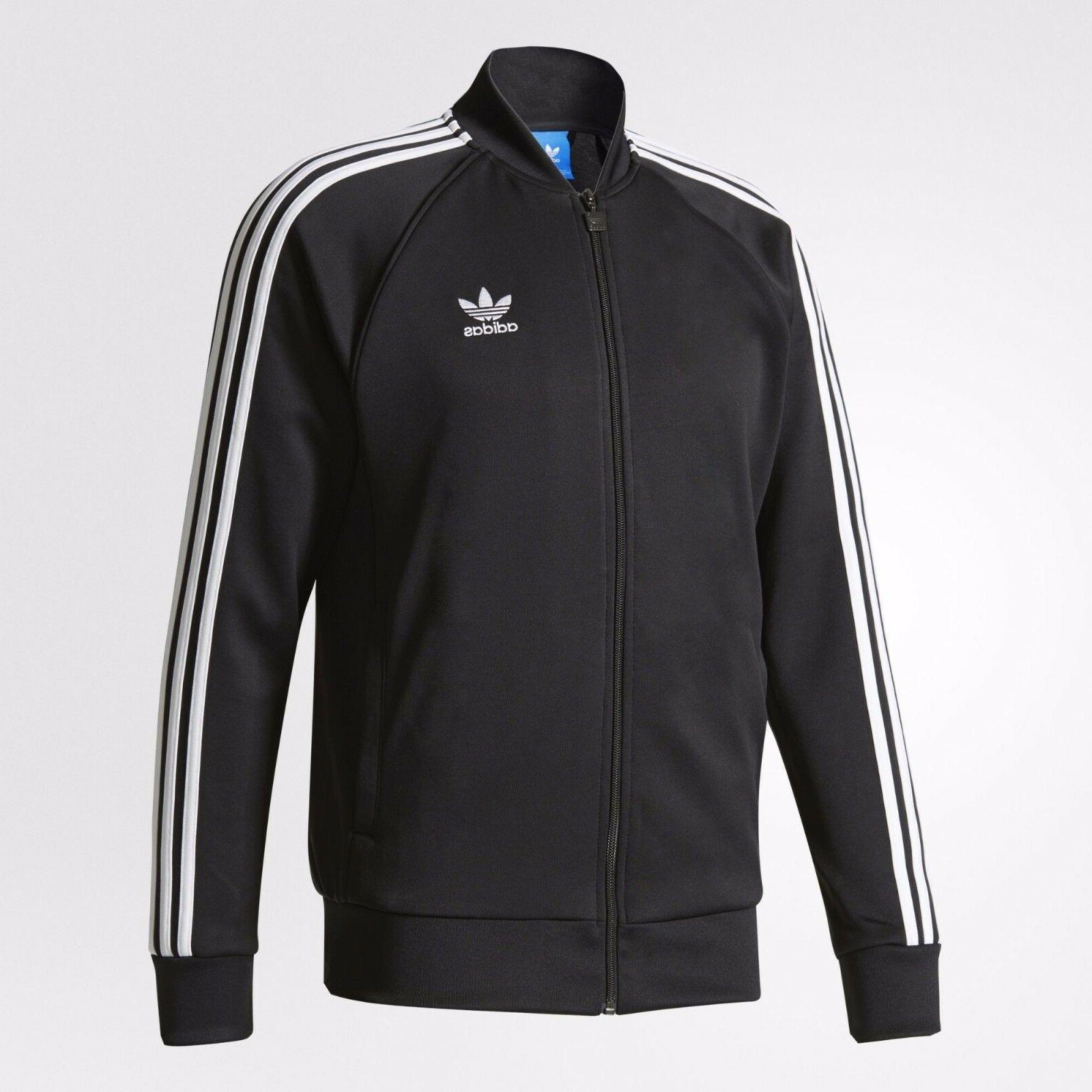 superstar track jacket blk