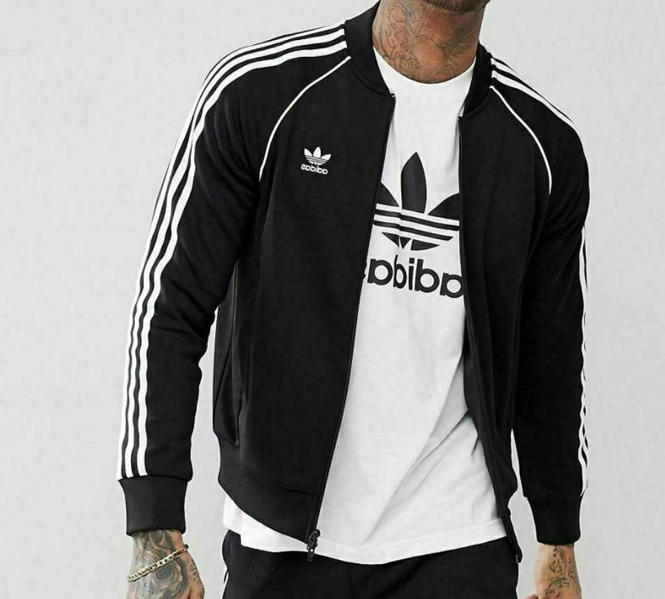 adidas Men's Superstar Track Jacket,