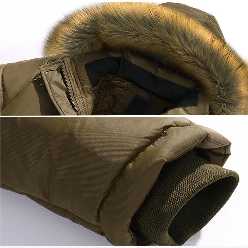 <font><b>Men</b></font> Fleece <font><b>Men</b></font> Jacket <font><b>Coat</b></font> Military Overcoat