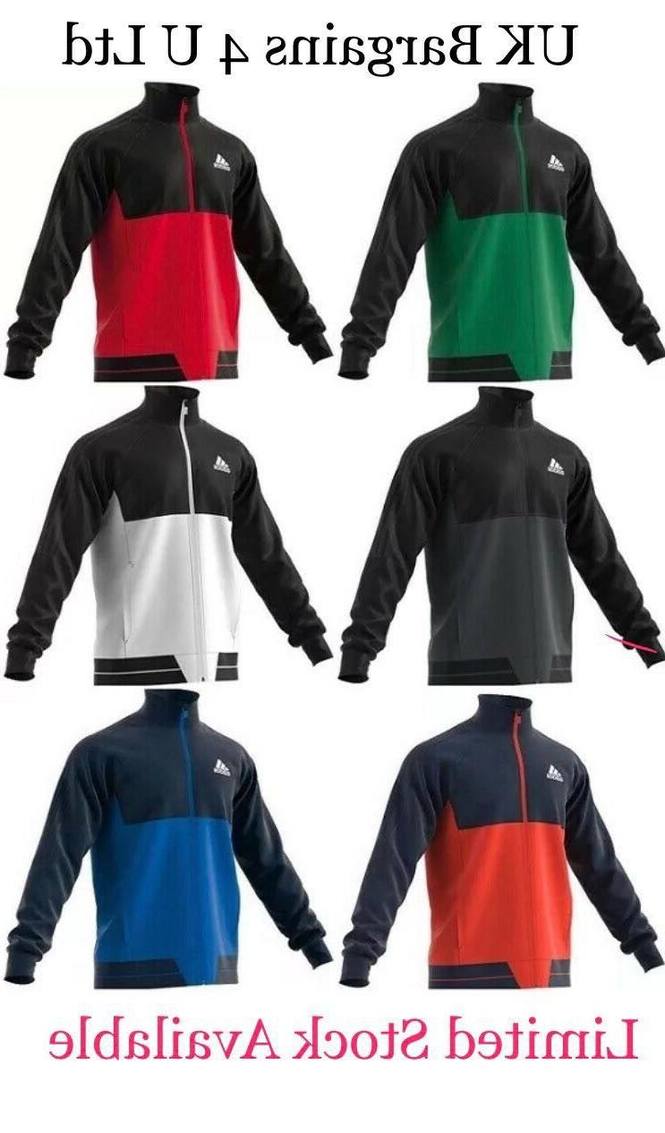 Adidas Tiro 17 Mens Training Top Jacket With Pockets CASUAL