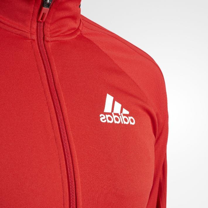 Adidas Soccer Jacket White Mens
