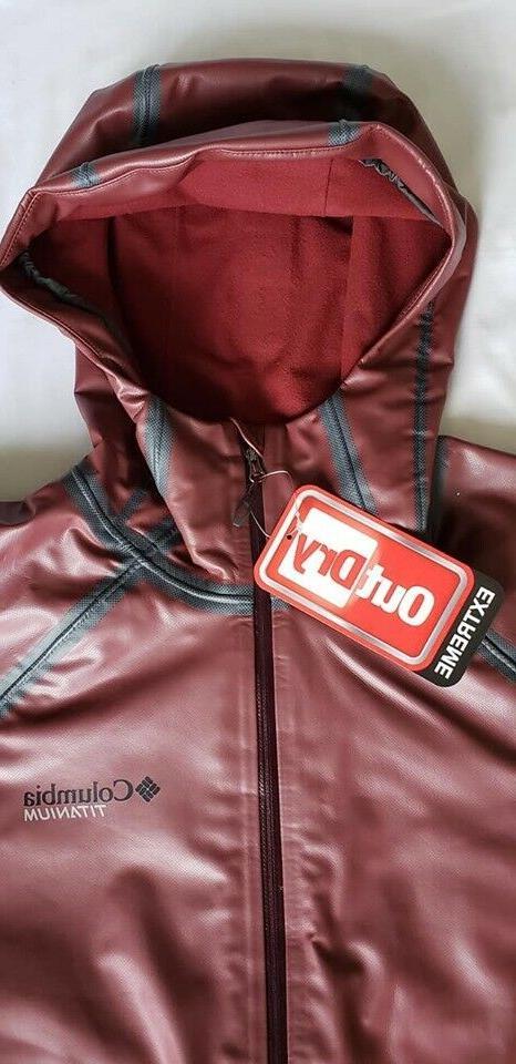 Columbia Men's Road EXS Shell Waterproof Jacket,Retail