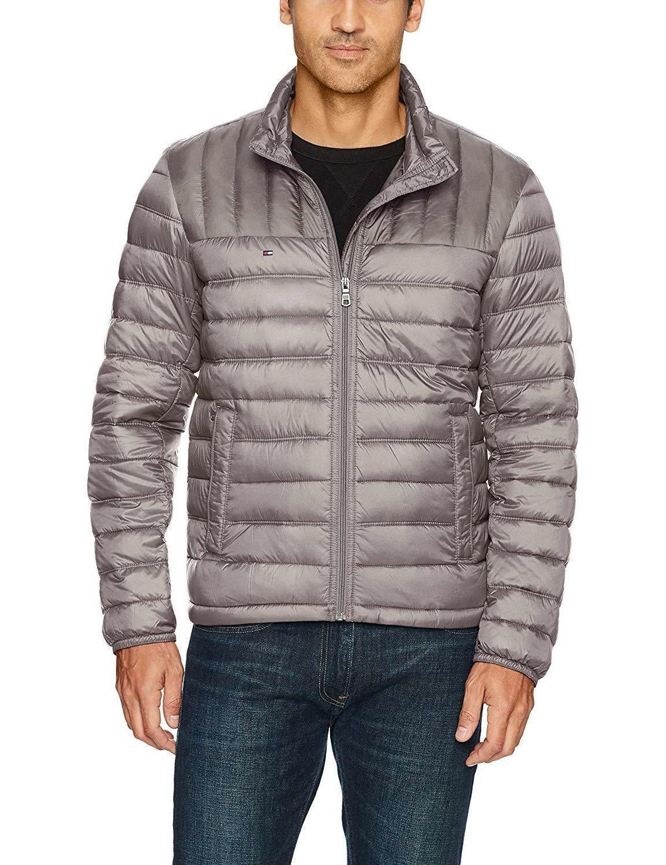 tommy hilfiger men s packable down jacket