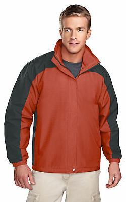 Tri-Mountain Men's Heavyweight Textured Windproof Fashion Sh