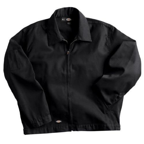men s unlined eisenhower jacket black large
